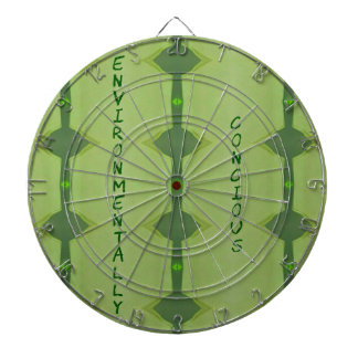 Going Green Environmentally Conscience Dartboard