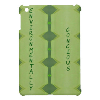 Going Green Environmentally Conscience iPad Mini Cover
