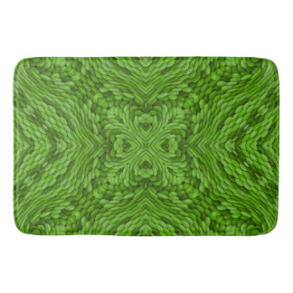 Going Green  Kaleidoscope  Bath Mats