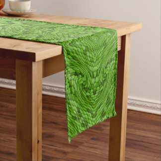 Going Green Kaleidoscope Colorful Table Runner