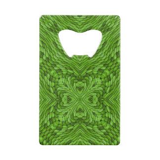 Going Green  Kaleidoscope  Credit Card Openers Credit Card Bottle Opener