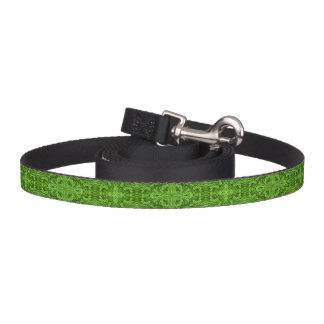 Going Green Kaleidoscope    Dog Leash