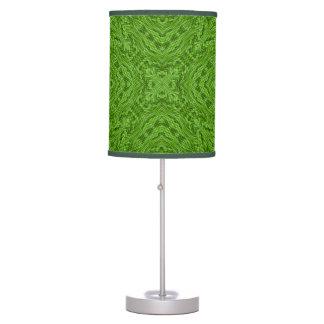 Going Green Kaleidoscope   Table Lamp