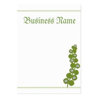 Going Green Large Business Card