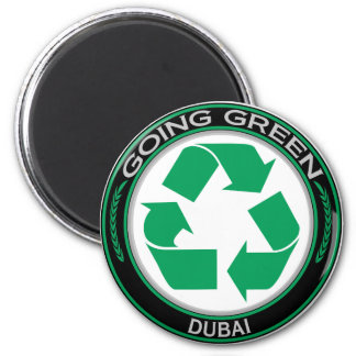Going Green Recycle DUBAI Magnet