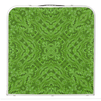 "Going Green Vintage Kaleidoscope 48""    Pong Table"