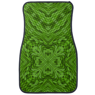 Going Green Vintage Kaleidoscope Car Mats  Front
