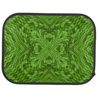 Going Green Vintage Kaleidoscope Car Mats rear