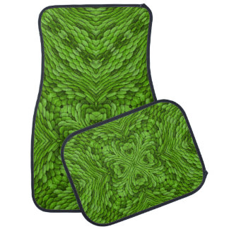 Going Green Vintage Kaleidoscope Car Mats set of 4