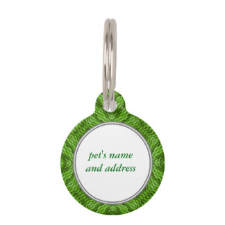Going Green Vintage Kaleidoscope  Dog Cat Tags