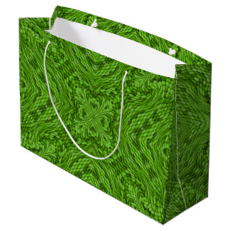 Going Green  Vintage Kaleidoscope Gift Bags