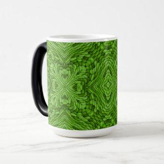 Going Green Vintage Kaleidoscope Morphing Mug