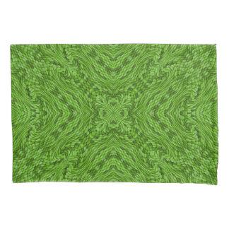 Going Green Vintage Kaleidoscope  Pillowcases