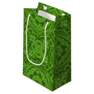 Going Green Vintage Kaleidoscope Small Gift Bag