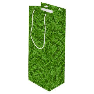 Going Green Vintage Kaleidoscope    Wine Bags