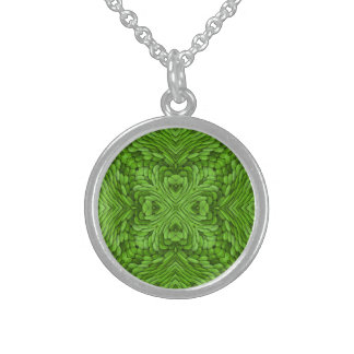 Going Green Vintage Sterling Silver Necklaces