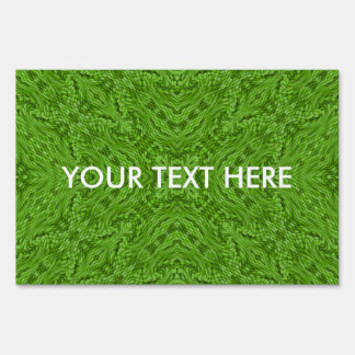 Going Green   Yard Signs, 3 sizes Sign