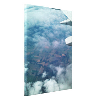 GOING HOME AERIAL SHOT canvas Gallery Wrapped Canvas