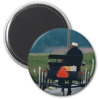 GOING HOME AMISH MAN MAGNET