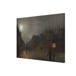 Going Home at Dusk, 1882 Gallery Wrap Canvas