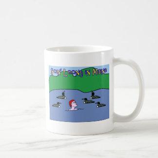 going_loon_maine_ver coffee mug
