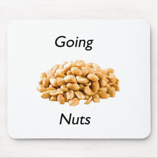 Going nuts mouse pad