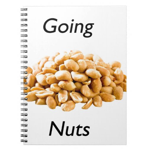 Going nuts spiral note book