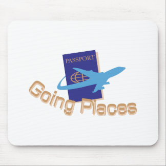 Going Places Mouse Pad