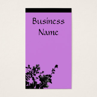 Going Purple Business Card