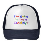 Going to be a Dad-Primary Colours Trucker Hat