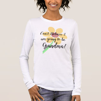 Going to be a Grandma Announcement Shirt