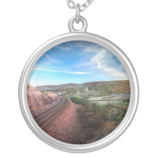 Going to California Silver Plated Necklace