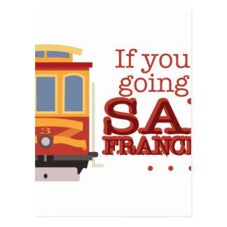 Going To San Francisco Postcard