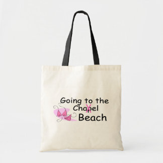 Going To The Chapel (Beach) (Bikini) Budget Tote Bag