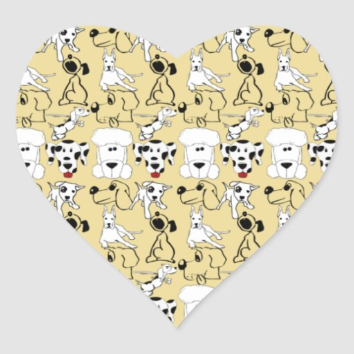 Going to the Dogs Pet Lovers Vet Dog Gifts Heart Sticker