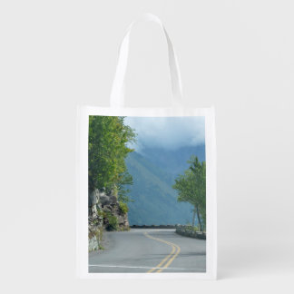 Going to the Sun Road Reusable Grocery Bag