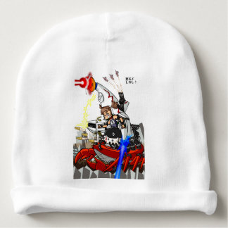 Going up to the capital! Worldwide master English Baby Beanie