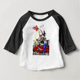 Going up to the capital! Worldwide master English Baby T-Shirt