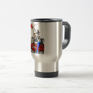 Going up to the capital! Worldwide master English Travel Mug