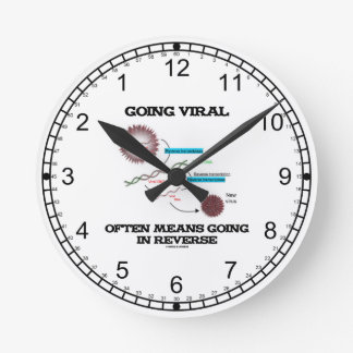 Going Viral Often Means Going In Reverse Round Clock