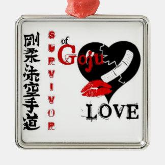 Goju Love Metal Ornament