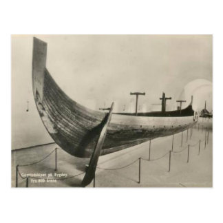 Gokstad ship, Oslo Postcard