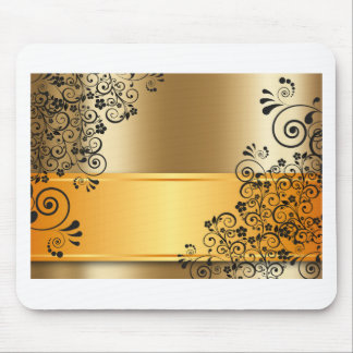 gold #12 mouse pad