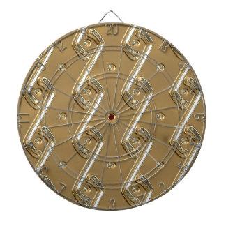gold #16 dart board