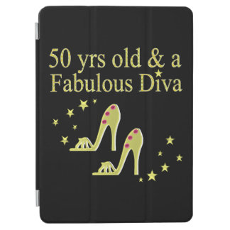 GOLD 50 & FABULOUS DIVA DESIGN iPad AIR COVER