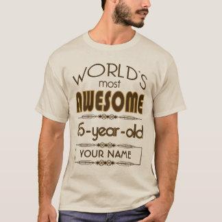 Gold 85th Birthday Celebration World Best Fabulous T-Shirt