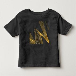 Gold Abstract Custum-  Toddler Fine Jersey T-Shirt