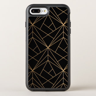 Gold Abstract Geometric Pattern | Phone Case