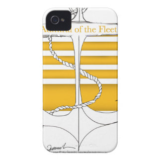 gold admiral of the fleet, tony fernandes iPhone 4 cover