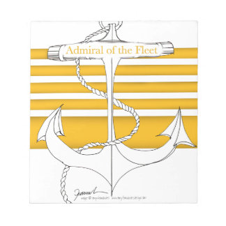 gold admiral of the fleet, tony fernandes notepad